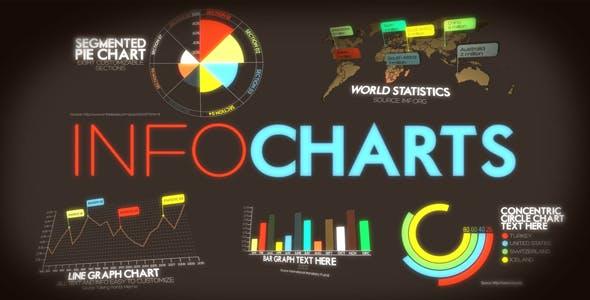 Infocharts ae infographic template