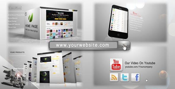 Your website pack ae